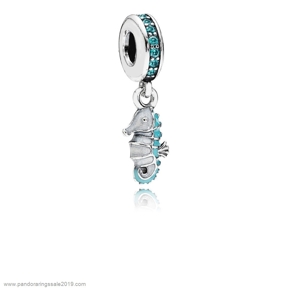 Pandora Store Prices Charm Pendentif Hippocampe Tropical