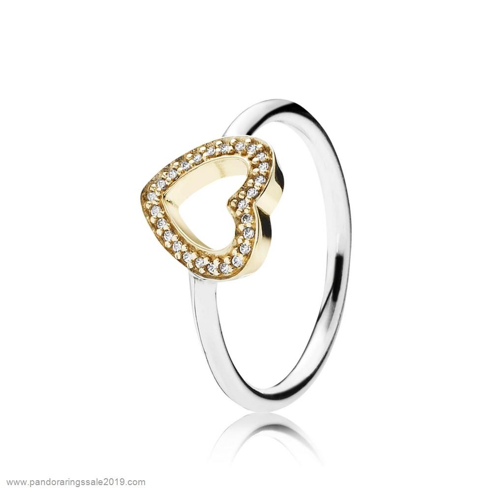 Pandora Store Prices Pandora Rings Symbol Of Love Heart Ring Clear Cz